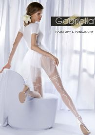 15 Denier Bridal Tights with Ribbon Seam